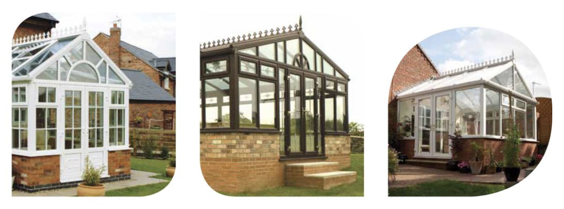 Gable End conservatories by Northampton builders BestBuy