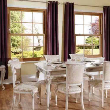 Double glazed sash windows installed in Northampton