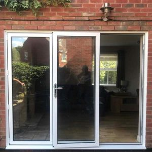 Glazed Patio doors installed